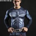 2017 Batman Tops Compression Fuuny Tees Fitness Superhero Superman Long Sleeve Tshirts 3D Printed T shirt