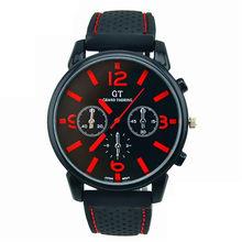 Mannen Rvs Sport fashion Cool Quartz Uur Analoog Horloge Militaire Sport Mannen часы мужские relogio masculino relojes(China)
