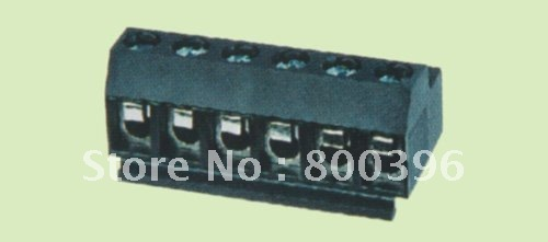 KF331-5.0-02p  PCB screw terminal block connector Brass cage pitch/spacing 5.0mm  RoHs<br><br>Aliexpress
