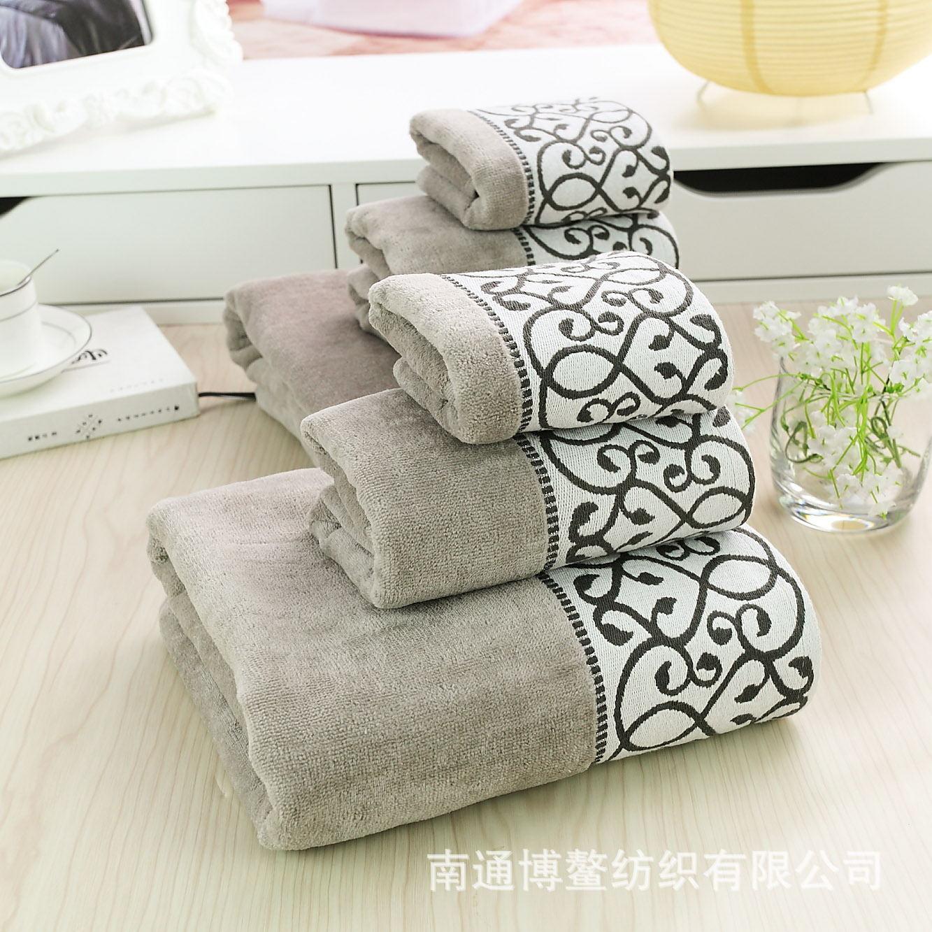 decorative bathroom towels 15 por - Decorative Bath Towels