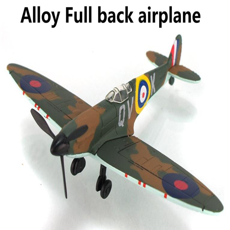 2015 World War II Classic Aircraft, 1:43 scale alloy Pull back Airplane model Toy Vehicles , Diecasts Airplanes toys(China (Mainland))