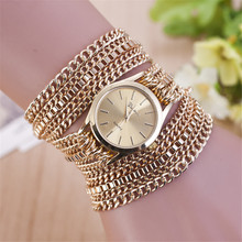 New Fashion Ladies Silver Gold Bracelet Watch Women Quartz Stainless Steel Starp Dress Watches Relogio Feminino Dourado Horloge