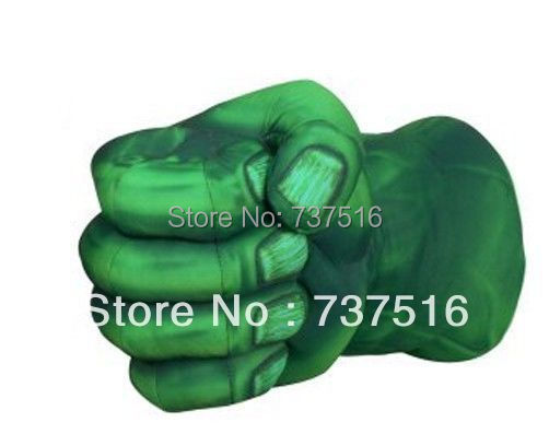 Incredible Hulk Smash Hands Soft Stuffed Plush Gloves Cosplay Boxing Right - My Fashion store