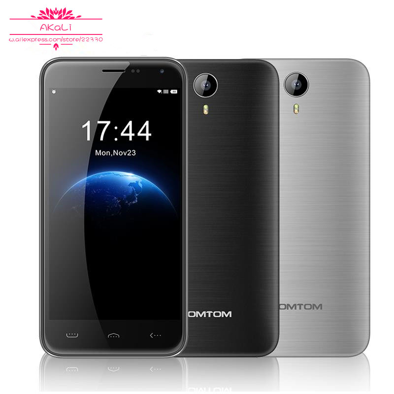 Hot sale HOMTOM HT3 Smart Mobile Phone 3G WCDMA 5.0 inch Android 5.1 MTK6580 Quad Core 1280x720 1GB RAM 8GB ROM 8MP Dual SIM(China (Mainland))