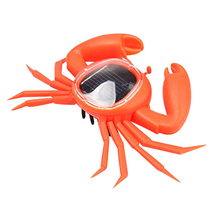 Power Solar Energy Solar Crab Children Insect Bug Teaching Fun Gift for Kid(China (Mainland))