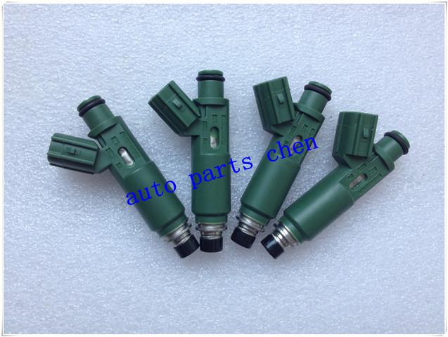 (4pcs/lot) New-Original toyota denso fuel injectors / injector nozzles 23250-22040,23209-22040,23250-0D040(China (Mainland))
