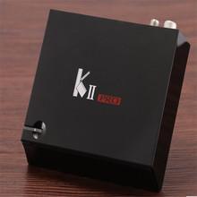 5.1.1 KII PRO S905 DVB Android OS S905 Amlogic de Cuatro núcleos 64-bit Soporte TV Box DVB-T2 y S2 Facebook/Twitter con 24 idiomas