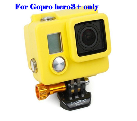 Sport Camera Protective Soft Silicone Case Standard Replacement Housing Case Cover for Gopro Hero 3+ Accessories<br><br>Aliexpress