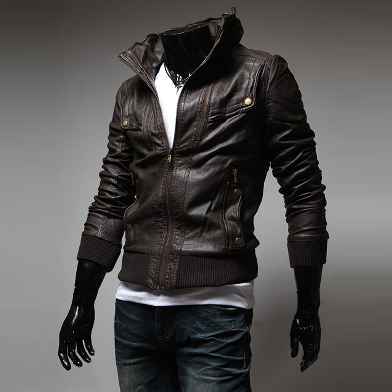 Cool Mens Leather Jackets - Jacket