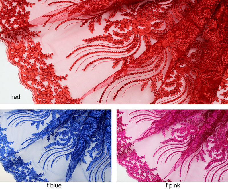 Free Shipping 5YD/pcs Afrian French Lace / Net Lace / Cord Embroidery Lace Fabric For Nigerian Wedding FL0028