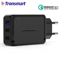 Tronsmart W3PTA Quick Charge 3 0 3 Ports USB Charger QC3 0 USB Smart Charger for