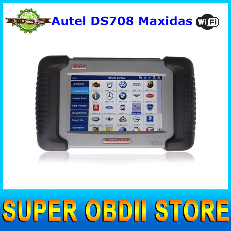 2015 New Arrival Autel DS708 Maxidas Automotive Diagnostic and Analysis System ALL Electronic Systems Live Data ECU Programming(China (Mainland))