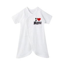 Newborn Toddler Romper I Love Mama I love Papa Romper Butterfly Playsuit Outfits(China (Mainland))