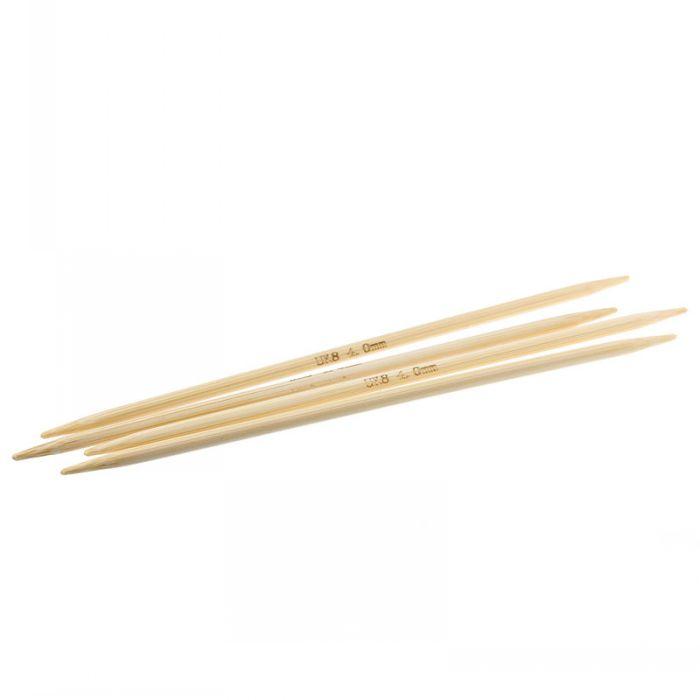 15mm Knitting Needles Uk : Retail bamboo knitting needles natural double pointed uk