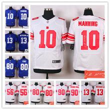 ALL Style Signature ! New York Giants 10 Eli Manning 13 Odell Beckham Jr 56 taylor 80 Victor Cruz 90 Jason Pierre-Paul(China (Mainland))