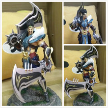 1pcs Game Anime character LOL 22cm Draven action pvc figure model doll birthday gift home decoration