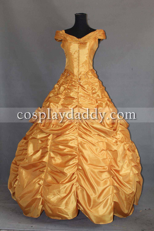 Vente en gros adulte princesse belle costume d 39 excellente qualit de grossistes chinois adulte - Robe la belle et la bete adulte ...