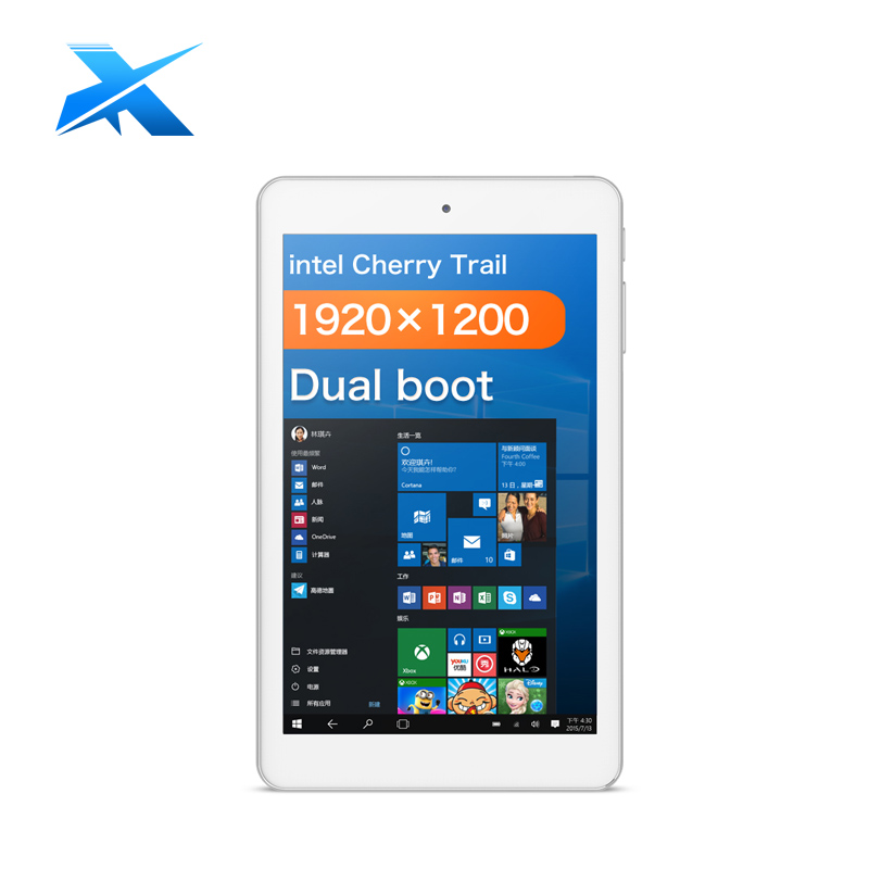 Cube iwork8 air Tablet PC 8inch 1920*1200 Dual OS Windows10 + Android 5.1 Cherry Trail Z8300 Quad Core 2GB 32GB HDMI(China (Mainland))