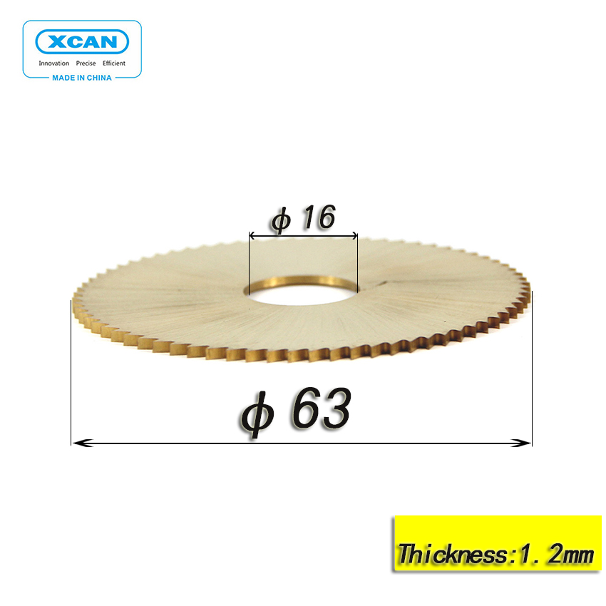 63*16*1.2 mm blade for 100E1 key machine key blade cutting right size use for key(China (Mainland))