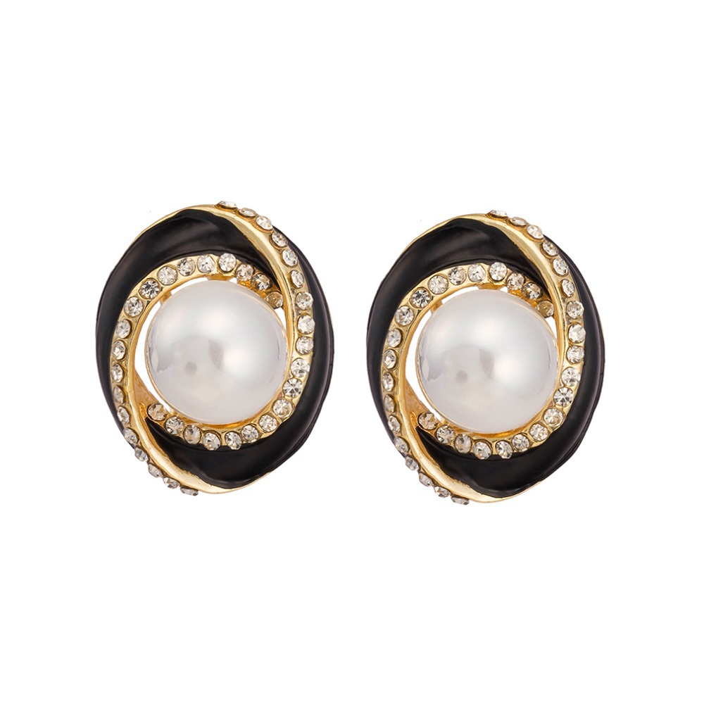 Stylish pearl earrings for stylish girls pictures