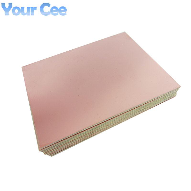 5pcs Epoxy Fiber FR4 Copper Clad Plate Laminate Circuit Board Double Side PCB 75 x 100 x 1.5mm 10X7.5cm DIY 2016 New(China (Mainland))