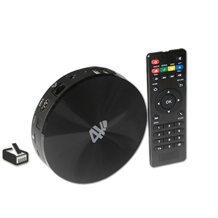 Free Shipping S802 Android TV KitKat Quad Core Amlogic 8GB Smart TV Box M8 4K HD Media Player<br>