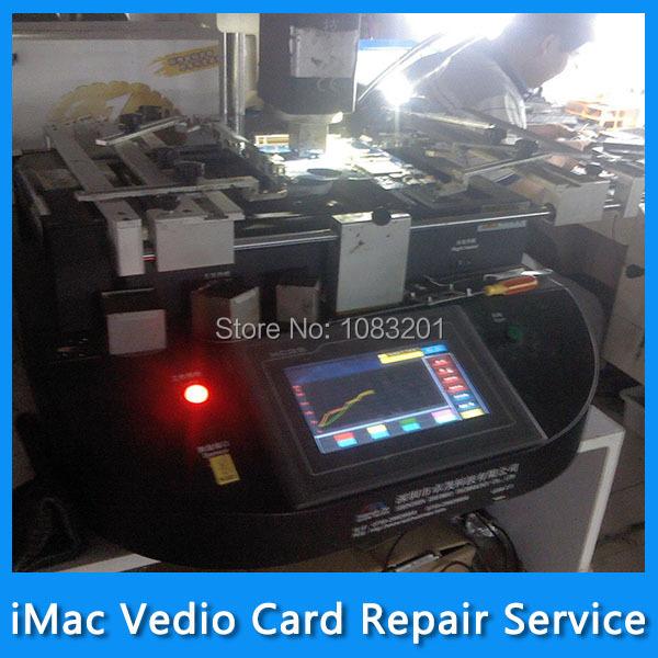 "Repair Service for iMac 24"" A1225 Vedio Card 109-B91157-00 216-0732025 ATI 4850 512MB DDR5 VGA Card Graphic Card MB418 MB420(China (Mainland))"