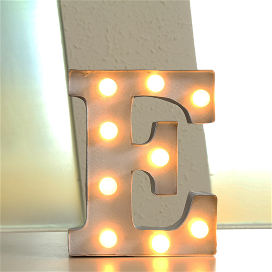 Tin Letters With Lights Amazing Tin Letters With Lights  Wall Plate Design Ideas Review