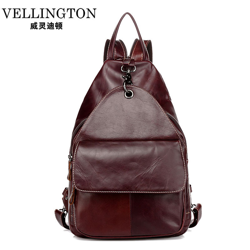High quality Genuine leather backpack college santoro girl small daypacks backpacks stacy bag women vintage bags for teenagers(China (Mainland))