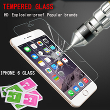 9H 0.26 mm For iphone 6s screen protector film on the iphone4s 5s 6s Screen Protector Glass on the cristal templado for iphone 6