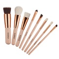 4 Colors Oval Makeup Tool Cosmetic Foundation Cream Powder Blush Makeup Brush( Black Gold Silver Rose Gold)