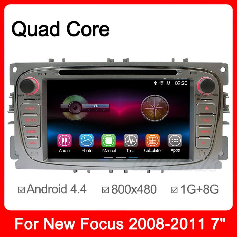 RK3188 Quad Core Android 4.4 Car DVD Player Radio For Ford Mondeo S-max Focus with GPS Navigation Support Glonass DVR OBD 3G(China (Mainland))