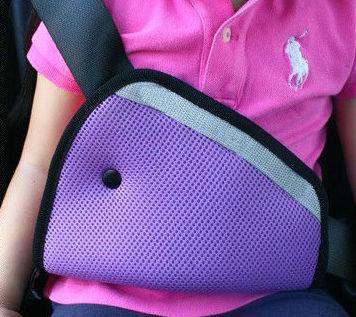 2015 Free shipping car Safe Fit Seat Belt Adjuster car safety belt adjust device baby child protector positioner Breathable(China (Mainland))