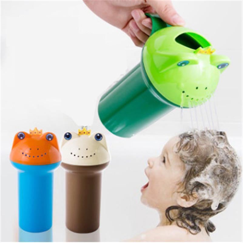 Multifunction Baby Bath Wash Head Floating Toy Classic Cute Cartoon Toys Baby Shampoo Shower Flower Pot Bath