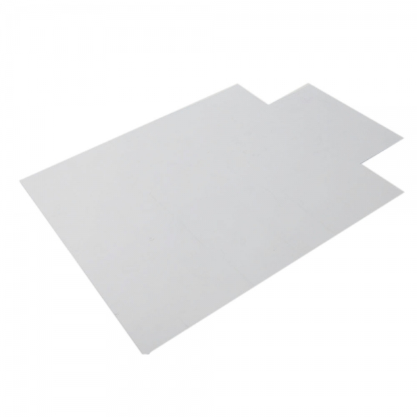 "PVC Tranparent Clear Matte Desk Office Chair Floor Mat Protector for Hard Wood Floors 48"" x 36"" Avoid Slipping Scratches(China (Mainland))"