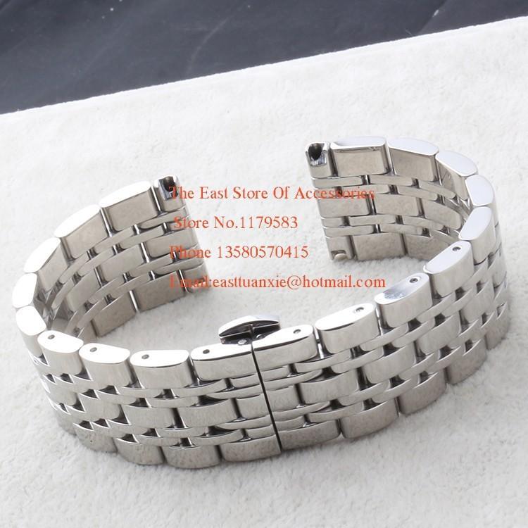 14 мм 18 мм 20 мм 22 мм ремешки для наручных часов нержавеющая сталь полированный браслеты для мужчины AR0382 0386 03890 0397