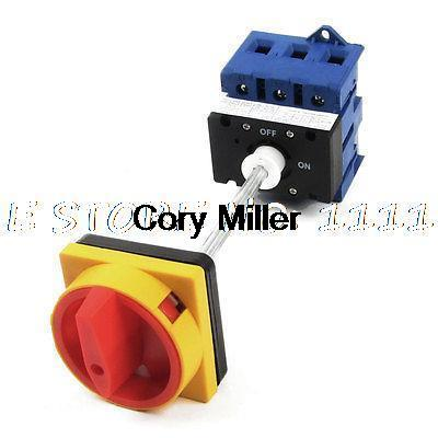 AC220V AC380V AC690V 80A ON/OFF 2 Position Rotary Cam Changeover Switch<br><br>Aliexpress