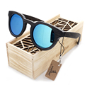 2016 wooden Sunglasses Bamboo brand sun glasses Vintage Wood Case Beach Sunglasses for Driving gafas de