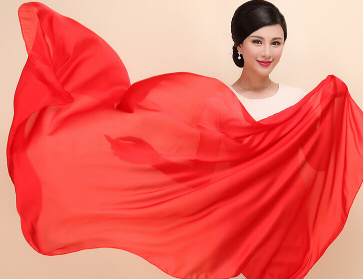 Silk scarves han edition of the new scarf plain Japanese sunshade scarves in spring and summer(China (Mainland))