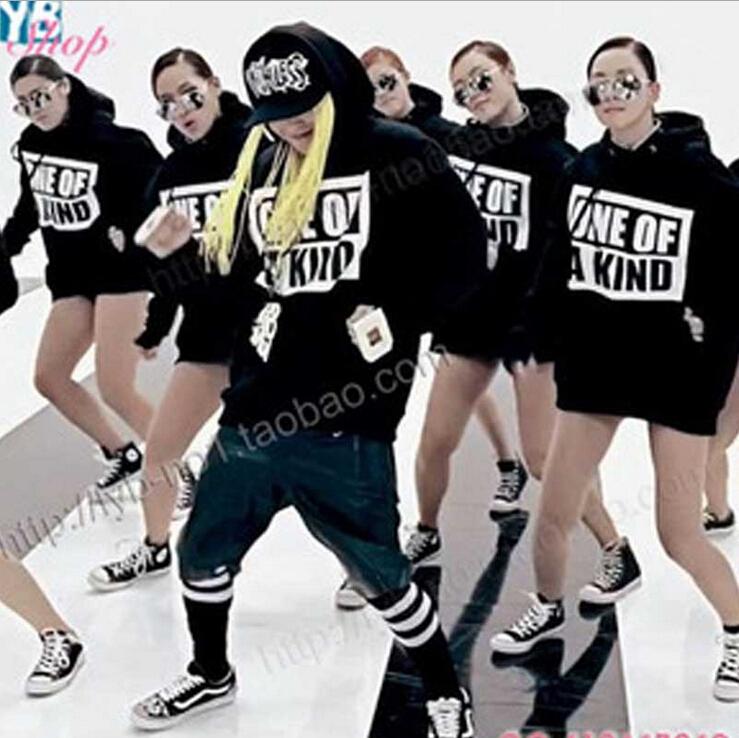 Bigbang Kpop Sweatshirt G-dragon Fashion Mens Clothing Cotton Hooded Hoodie K-pop One Kind - Star Model Store store