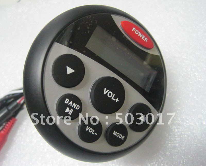 newest water proof mp3 players with AM FM USB(Hong Kong)