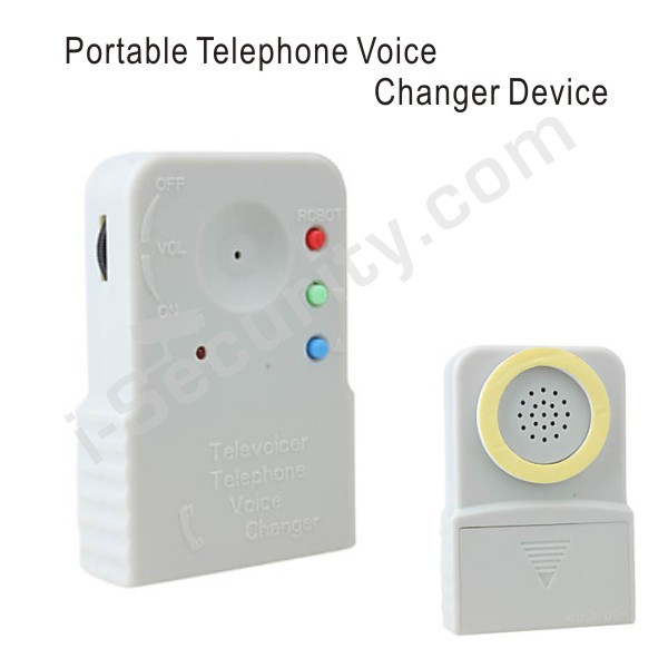 Portable Telephone Voice Changer Device + Free Shipping(China (Mainland))