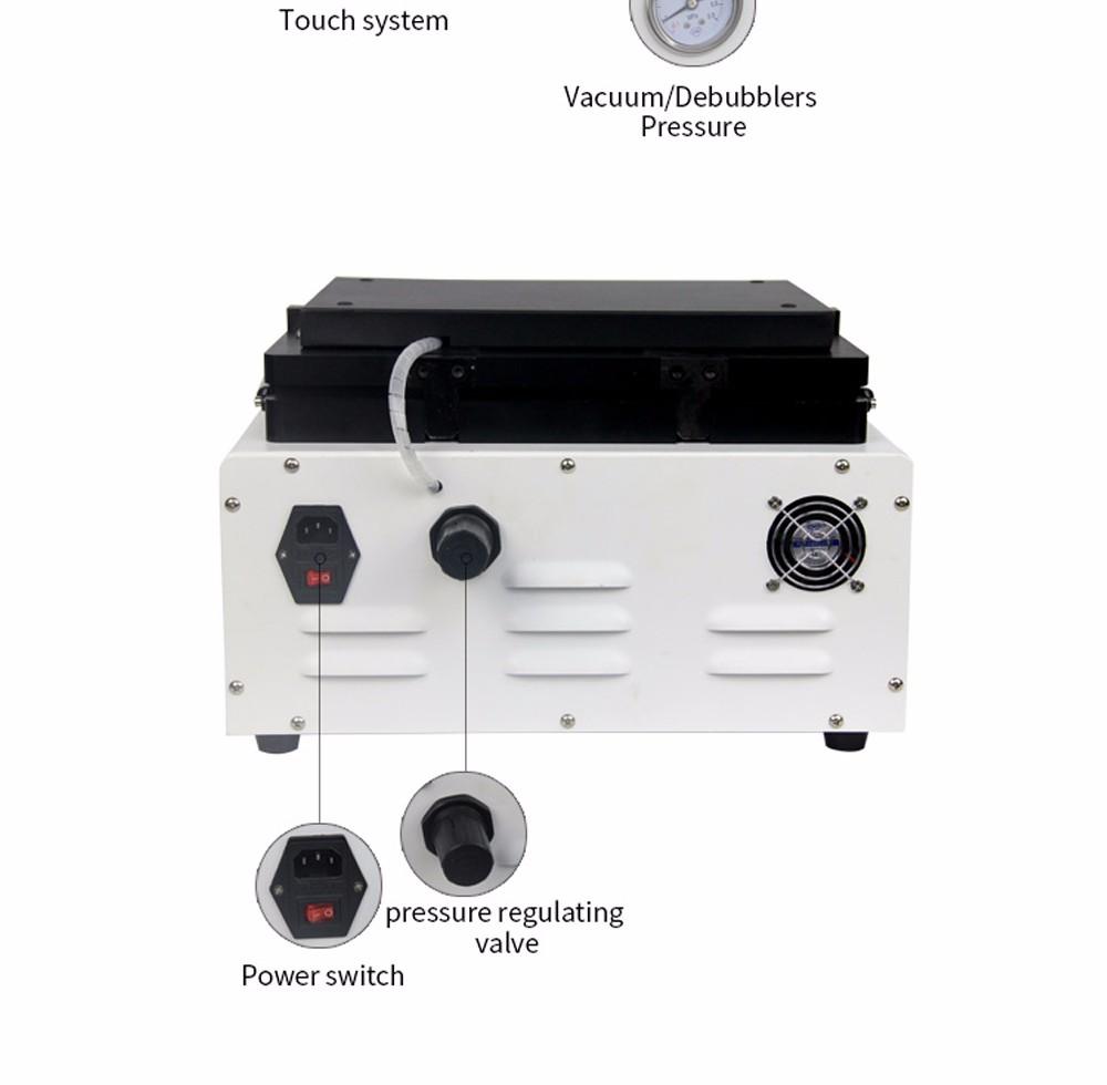 Купить TBK-808 Ремонт LCD Сенсорный Экран Автоматическая Пузыря Удаление Машина ОСА Вакуумный Ламинатор с автоматической блокировкой газа