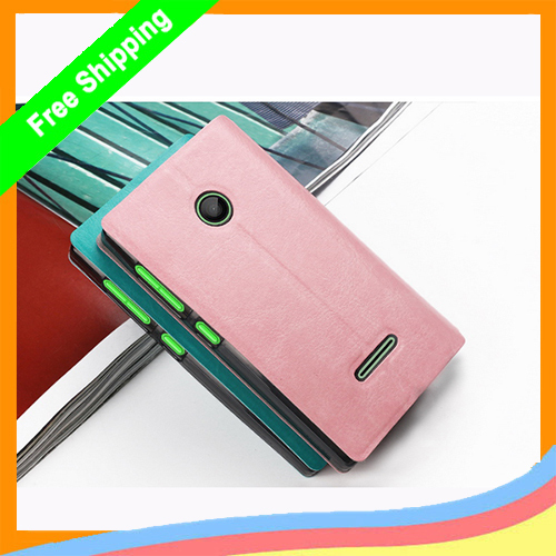 1Fashion Simple Stand Case Microsoft Lumia 435 New Book Style Flip PU Leather Phone - Aiweising Global Source (HK store Co.,Ltd)