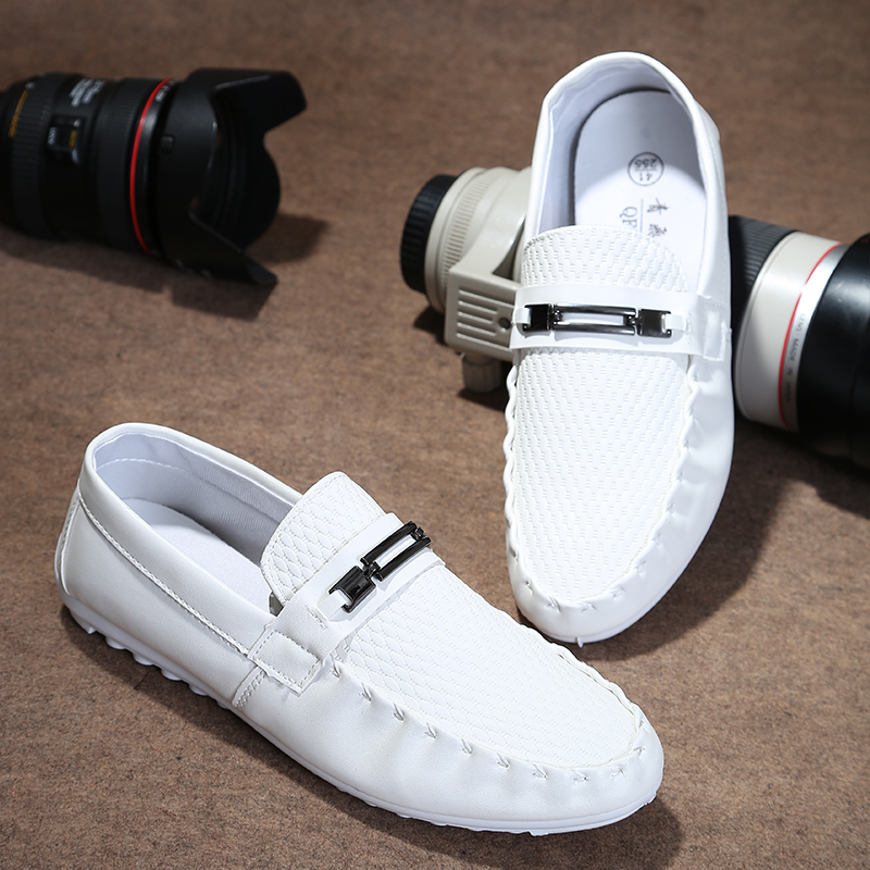 2015 Limited Tpr Shoes Zapatos Hombre Spring Autumn Moccasins Male Fashion Lazy Sailing Breathable Casual - House Mall store