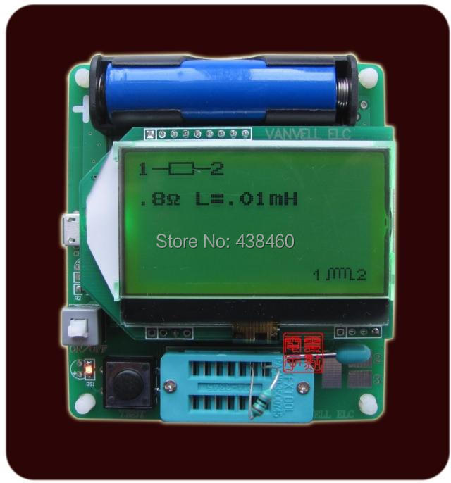 Graphics display M328 version inductor capacitor ESR table tester meter LCR - Kubaba's store