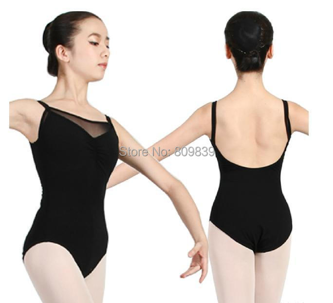 5 Colors S/M/L, Professional Adult Ballet Dance Leotard Backless Cotton Lycra Coverall/ Women Training Clothes/Gym Suit /Wear - Beautiful dancers dance supplies shop store