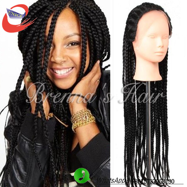 Crochet Box Braids Wig : ... wig Box braid lace wig freetress crochet braid box braids crochet