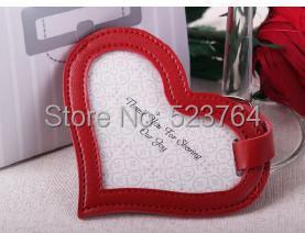 Pink Heart Luggage Tag Wedding Gift Ideas(China (Mainland))