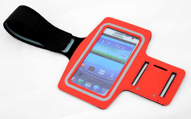 Free HK registered mail!! Sport Arm band Mobile phone Arm pouch Arm band for Samsung Galaxy S4 i9500